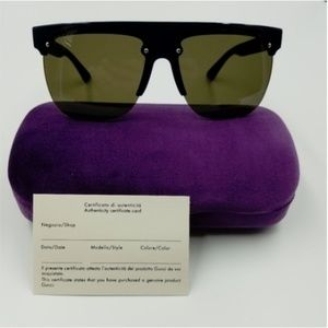 Other - NWT Authentic Gucci Blue/Black Sunglasses